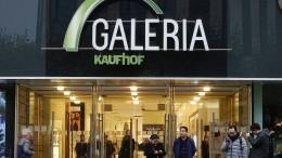 Kaufhof plant Abbau hunderter Stellen