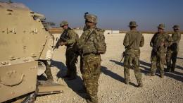 Amerika nimmt Operation in Syrien wieder auf