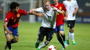 Deutsche U17 scheitert im EM-Halbfinale