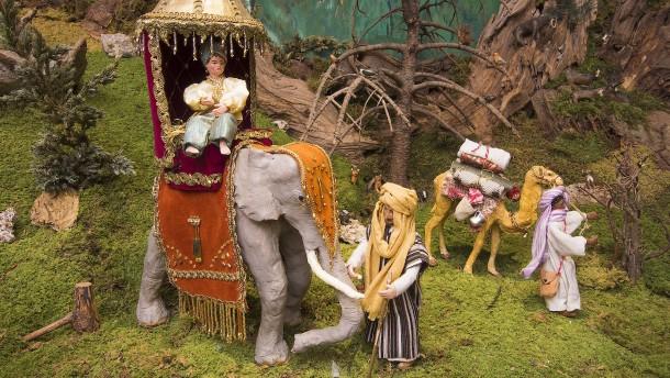 Warum in manchen Krippen Elefanten stehen