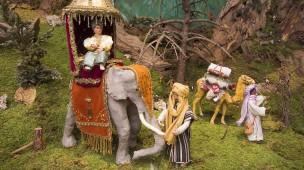 Nicht nur Ochs und Esel: Die Heiligen Drei Könige brachten womöglich auch ein Kamel und einen Elefanten mit nach Bethlehem.