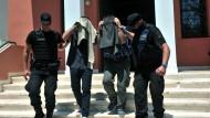 Griechische Justiz liefert türkische Militärs nicht aus