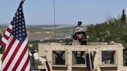 Amerika verlegt weitere Soldaten in den Nahen Osten