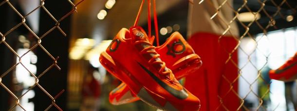 Nike-Schuhe in einem Laden in Santa Monica