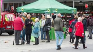 Können die Grünen die Rathäuser erobern?