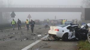 Geisterfahrer verursacht Unfall mit sechs Toten