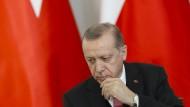 Kann auch nachdenklich: Türkeis Präsident Erdogan