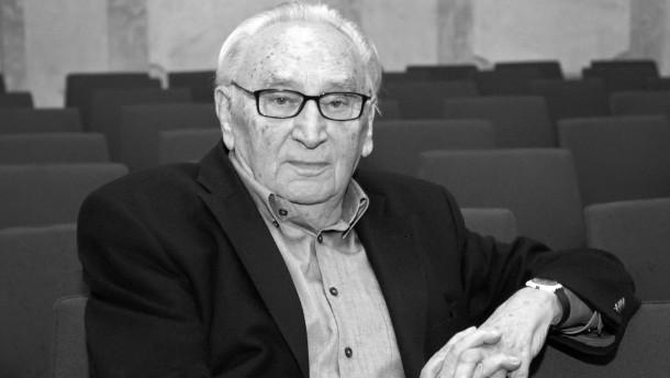 SPD-Politiker Egon Bahr gestorben