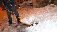 Wintereinbruch in Frankreich