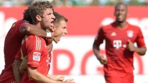 Der Aufsteiger ist kein Maß für die Bayern