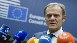 Polen droht mit Blockade des EU-Gipfels