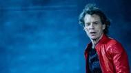 Bekannt für seine energiegeladenen Bühnenshows: Mich Jagger (hier Mitte Juni 2018 in Berlin)