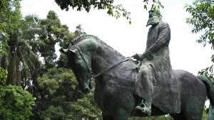 Statue von Leopold II. erhitzt die Gemüter in Kinshasa