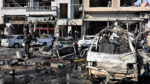 Viele Tote bei Anschlag in Homs