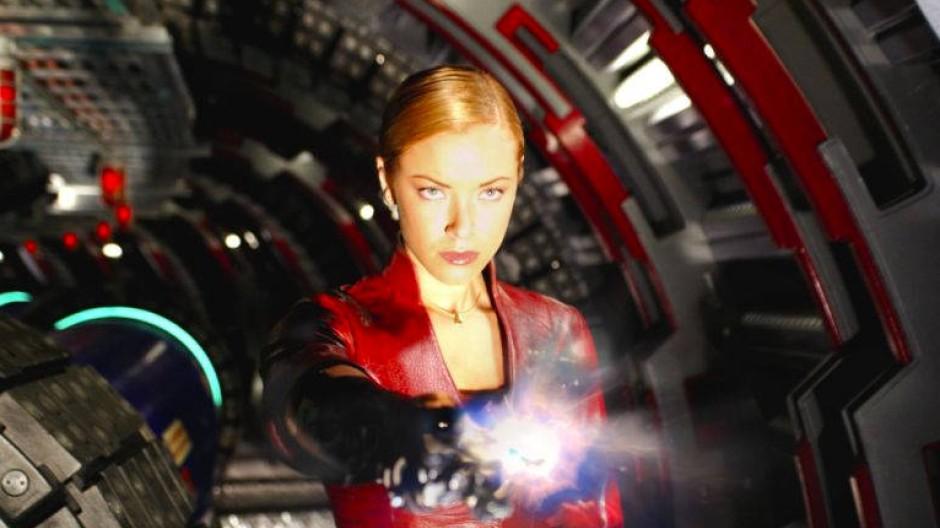 """Wenn Menschen Maschinen werden, können sie aber immer noch gut aussehen wie hier in dem Film """"Terminator 3- Rise of the Machines""""."""