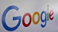 Am Eingang hängt das Google-Logo. Unter dieser Marke arbeiten auch die meisten Mitarbeiter.