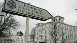 Befreiungsschlag in Heiligendamm