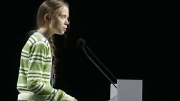 Greta rechnet mit Politikern ab