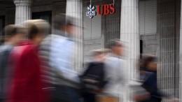 Großbank UBS muss Rekordbuße von 3,7 Milliarden Euro zahlen