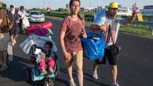 """Amerika will """"etwas mehr"""" Flüchtlinge aufnehmen"""