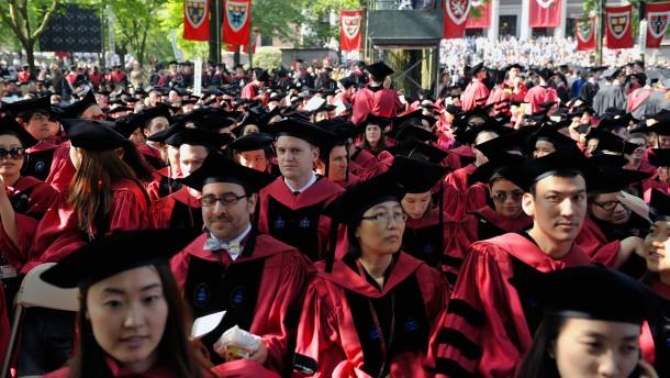 Sind die asiatischen Bewerber am Ende zu gut für Harvard?
