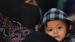 Rohingya-Flüchtlinge im Niemandsland