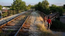 Schneckentempo auf dem Balkan