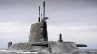 Die HMS Artful der British Royal Navy des britischen Konzerns BAE Systems: Großbritannien könnte von Trumps Militärpolitik profitieren.