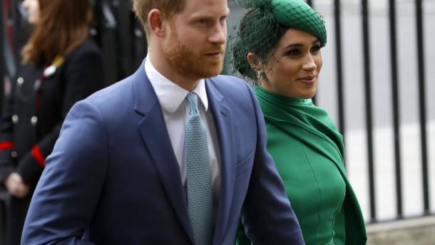 Harry und Meghan zahlen Millionen für Wohnsitz-Renovierung zurück