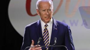 Biden stellt sich Belästigungsvorwürfen