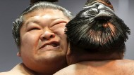 Frühjahrswettkampf der Sumo-Ringer
