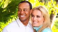 Sportlerpaar: Tiger Woods und Lindsey Vonn
