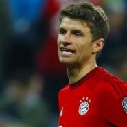 Bayern-Profi Thomas Müller ist enttäuscht nach der Niederlage im Champions-League-Halbfinale