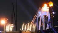 Botschaft an das IOK: Kurz vor der Eröffnungsfeier in Pyeongchang am vergangenen Freitag schlugen die Hacker zu.