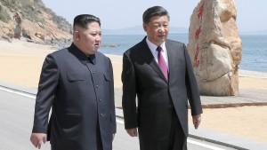 Kim Jong-un trifft sich schon wieder mit Xi Jinping