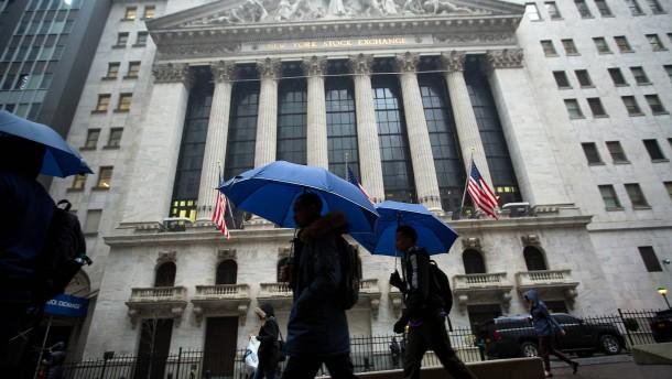 Finanztitel werden zu Hoffnungsträgern der Wall Street