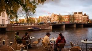 Auf Einkaufstour in Amsterdam