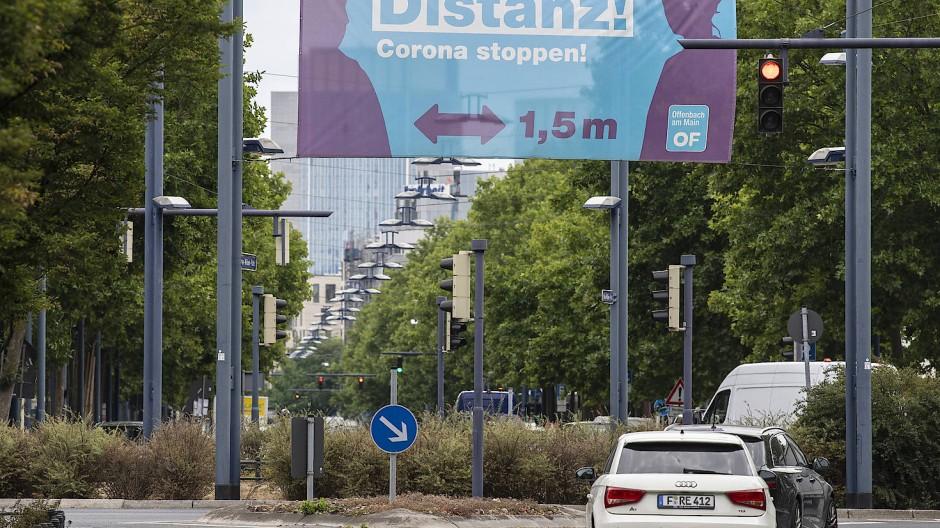 Offenbach verschärft Kontaktbeschränkungen