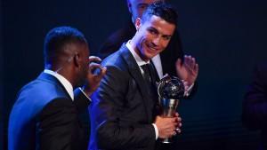Ronaldo zum fünften Mal Weltfußballer