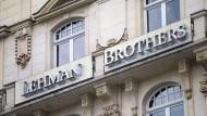 Ausgezogen: 150 Mitarbeiter der damals viertgrößten Investmentbank der Welt arbeiteten vor der Krise in dem Gebäude am Frankfurter Rathenauplatz.