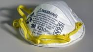 Begehrte Ware: Atemschutzmasken, wie diese von 3M.
