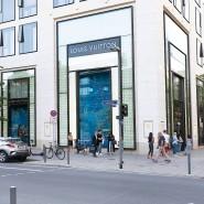 Geduldsspiel: Bei Louis Vuitton müssen sich Kunden anstellen
