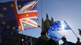 Britische Minister legen Plan B für Übergangslösung vor