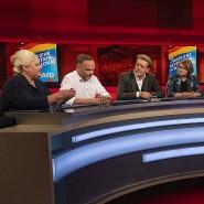 Die Gesprächsrunde zur Thüringen-Wahl im Studio von Moderator Frank Plasberg