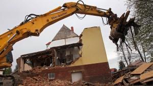 NSU-Haus wird abgerissen