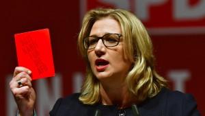 SPD: Ohne unser Ja kein Kompromiss im Asylstreit