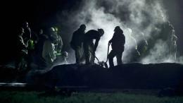 Mehr als 60 Tote bei Brand einer Pipeline