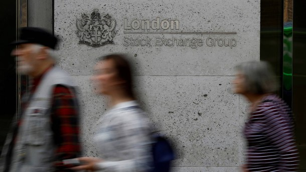 Britische Unternehmen erleben Mini-Hausse