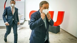 Rücktrittsforderung an das CDU-Präsidium, Merz attackiert CSU