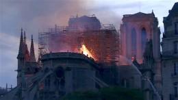 """""""Dramatische Schäden"""" in Notre-Dame"""